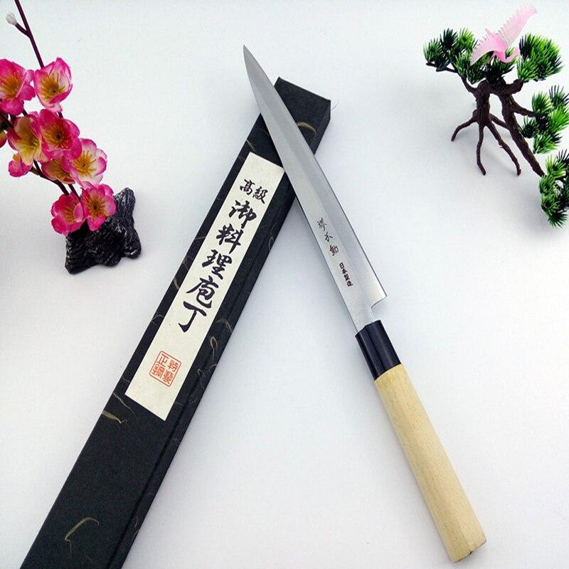 Livraison Gratuite Millenarie Cuisine De Style Occidental En Acier Inoxydable Couteau de Chef Sushi Sashimi Légumes Viande Cuisson Couteau Cleaver