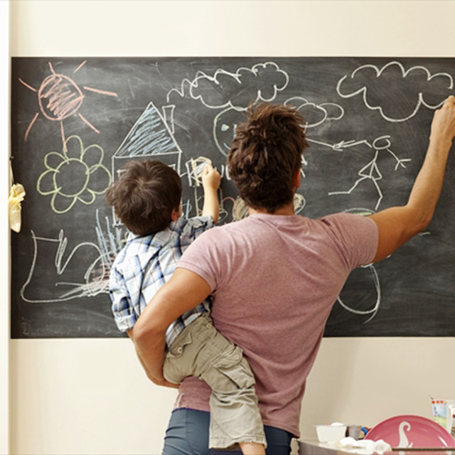 Online Shop Wall Sticker Soft Chalk Board Hold Magnets Sheet Ferrous ...