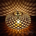 50cm Nordic Bamboo Wood Coral Pendant Lights Modern Creative Fixtures Simple DIY Wooden Cage Ball Coral Pendant Lamps Lights