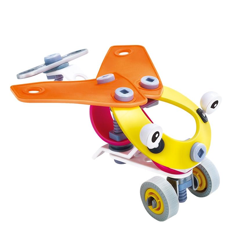 ᐊDIY desmontaje Destornilladores montado Juguetes niños tren Avión ...