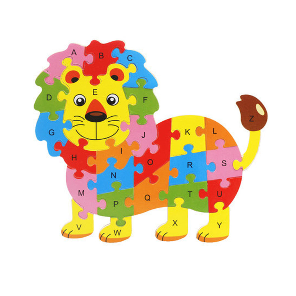 Able Jimitu 4 Bears Cartoon Wooden 3d Puzzle Jigsaw Toys For Children Educational Animal Intelligence Development Jigsaw Toys Structural Disabilities Puzzles & Games