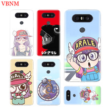 Dr. Slump Arale Durable Soft TPU Phone Case For LG V40 G6 G7 Q6 Q8 Q7 G5 G4 V30 V20 V10 K8 K10 2018 2017 Customized Cases Coque