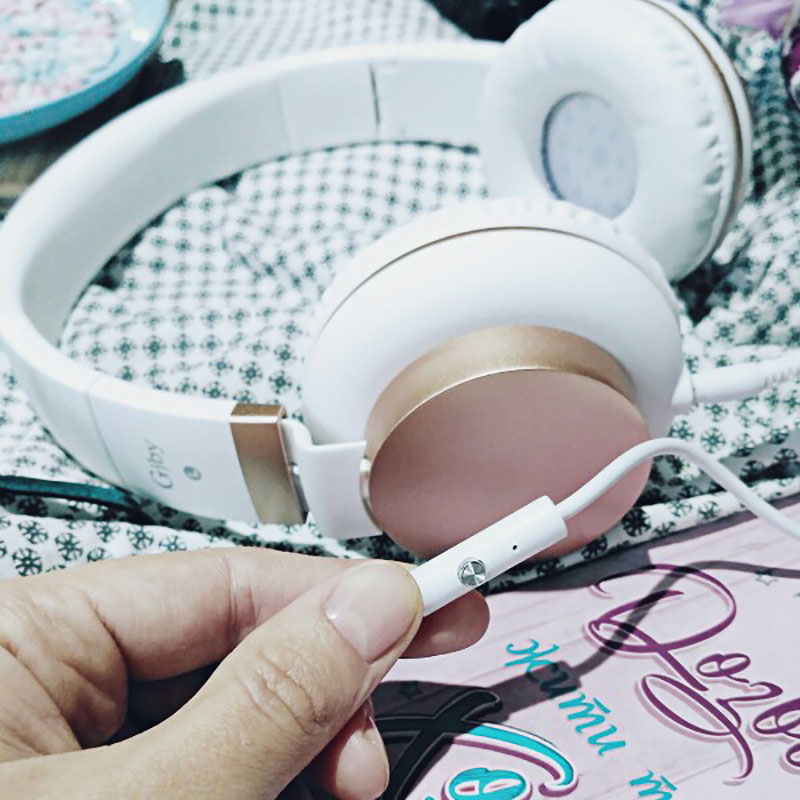 Headphone Berbelanja Ikat Kabel 15