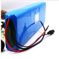 GTF 24V 25.9v 10000mAh 29.4v 7S li ion battery pack 18650 lithium rechargeable batteries For lectric bicycle motor ebike scooter