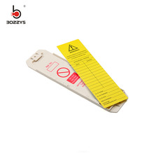 Safety Scaffolding Protector Tag Holders Inserts Marker Pens large fixed assets Security sign Scaffolding BD-P32 personal assets