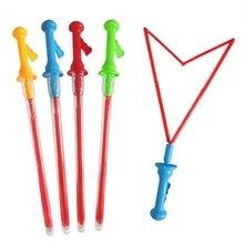 Большой пузырь меч в западном стиле форма палочки для пускания пузырей детская игрушка для мыльных пузырей Наружная игрушка