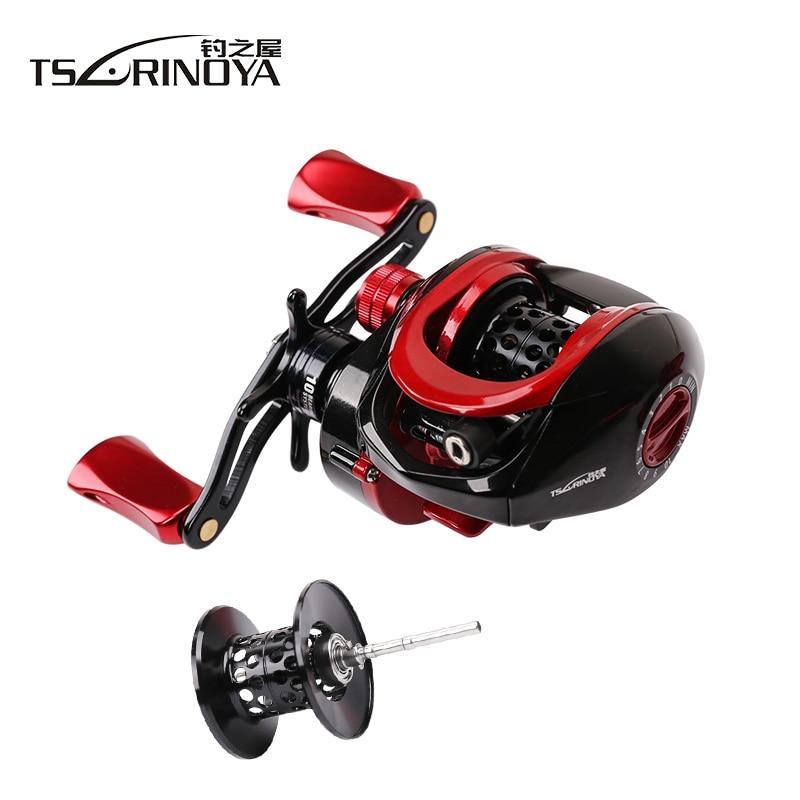 Tsurinoya XF-50 Baitcasting Fishing Reel 6.6:1 10BB With Spare Spool Fishing Reels Casting Max Drag 4Kg Moulinet Olta Makaralar цена