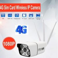 Z6U 1080P HD 3G 4G SIM Card Wireless GSM IP Camera Wi fi 2MP CCTV Outdoor Waterproof Bullet High Quality IR P2P Security Camera