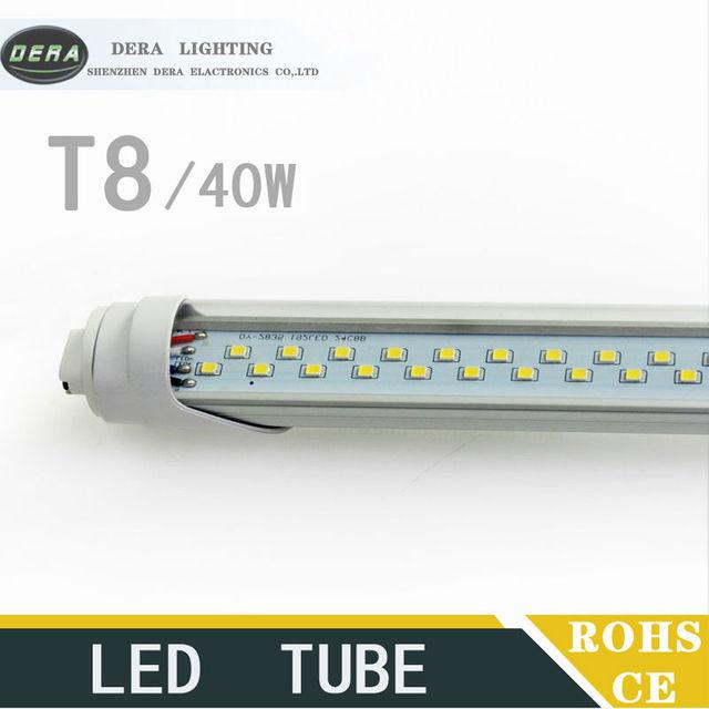 20PCS T8 8FT 40W LED TUBE Light Double Line Fa8s R17d Lampada LED Led  Energy Saving