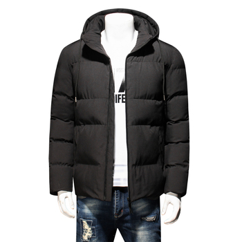 8XL 6XL 5XL 2018 NEW Winter Jacket Men Slim Thick Warm Top Quality Windproof Zipper Clothes For Men Fashion Winter Coats Man