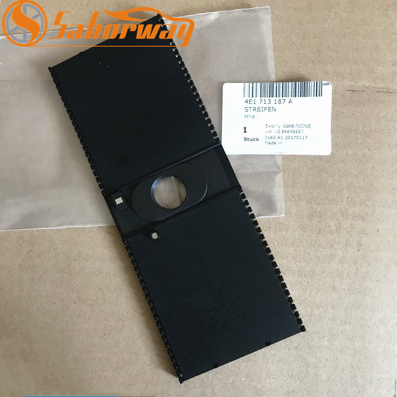 US $91 15 |LHD Auto Transmission Shifter Cover Strip Shift Slider For A8 D3  S8 2004 2005 2006 2007 2008 2009 2010 4E1 713 187 A 4E1713187A-in Gears