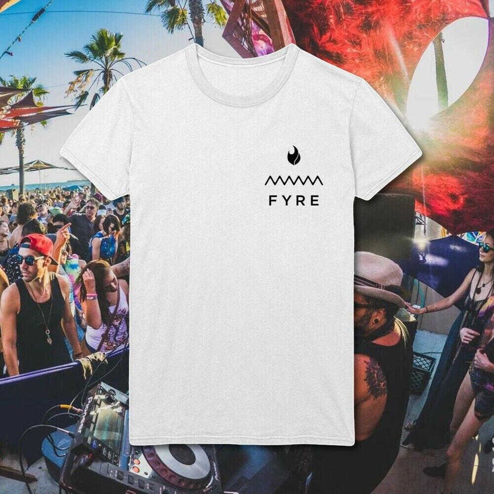 Fyre เทศกาล Exuma บาฮามาส merch Ja rule FireNetflix HD52 T   ShirtFUNNY Tops ขายส่ง Tee custom สิ่งแวดล้อมพิมพ์-ใน เสื้อยืด จาก เสื้อผ้าผู้ชาย บน title=