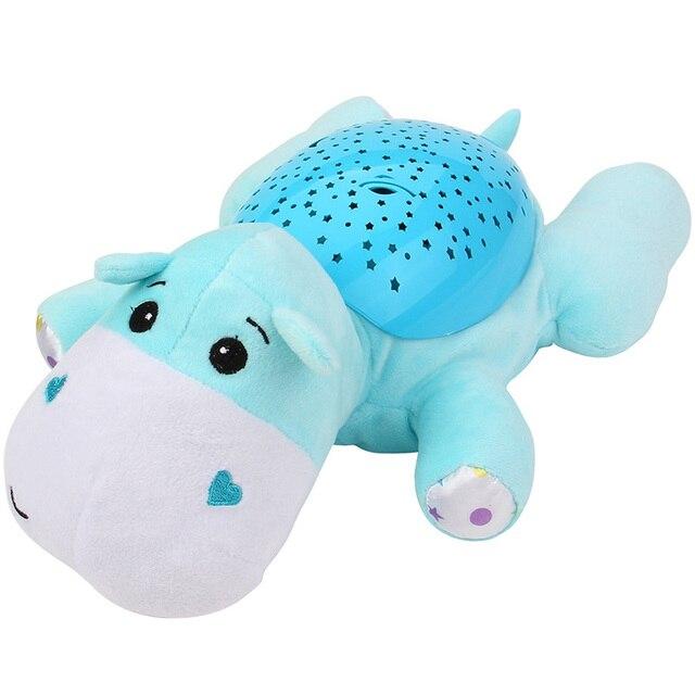 Baby Sleep Led Lighting Stuffed Animal Led Night Lamp Plush Toys