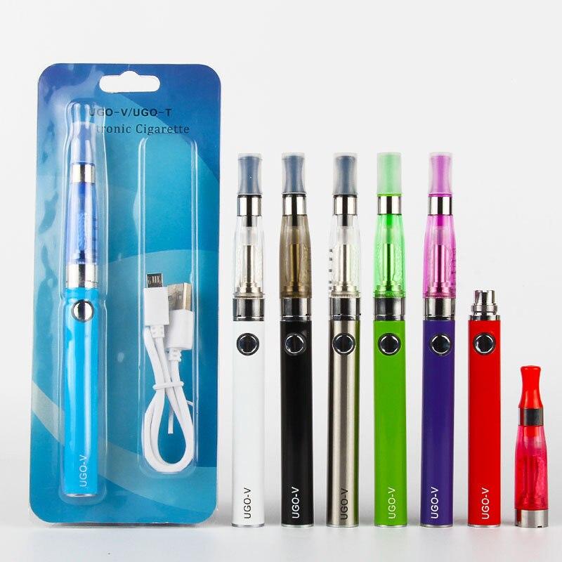 Ugo V CE5 Blister Kits Elektronische Zigarette usb-gebühren 510 gewinde Evod shisha sigara ugo-v battery E Cig CE5 zerstäuber vape stift