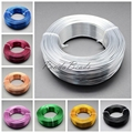 2mm 50m/roll HOT Sale New Aluminum Wire Soft Nice for Jewelry DIY Making Jewelery Accessories Findings Silver Golden Blue Yellow
