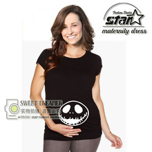 Cute Pregnant Maternity T Shirts Casual Pregnancy Mommy Clothes With Baby Print Funny Maternity Shirts 100% Cotton