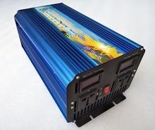 High frequency Dual digital display 3000W dc12v to ac110v 60hz pure sine wave power inverter surge power 6000W 3kw 3000w frequency inverter 3000w pure sine wave power inverter 3000w high frequency converter single phase peak 6000w