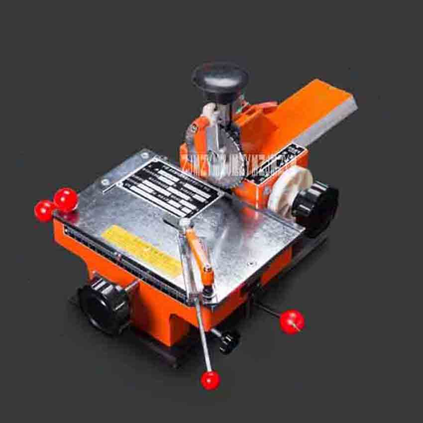 YK-A Semi-automatic Nameplate Marking Machine Metal Sign Marking Machine(180*135mm) With 2/2.5/3/4/5/6mm Character Wheel+Fixture