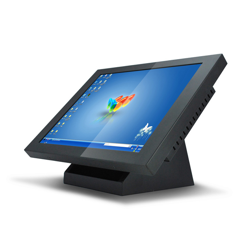 19 Inch W7 Industrial Embedded Touch PC Llinux With Lan Port RJ45 RS232 Industrial Computers