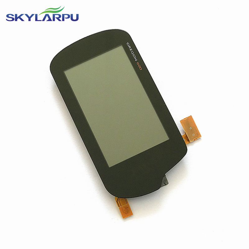 skylarpu LCD screen for GARMIN OREGON 600 Handheld GPS LCD display Screen with Touch screen digitizer