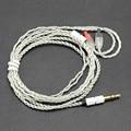 Lo nuevo 1.2 M solo cristal plateado de cobre Cable de los Auriculares de Alta Fidelidad Auriculares Línea de cable de actualización para Im50 IM70 IM02 IM03 im04