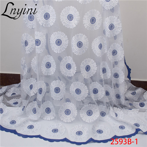 French Tulle Lace Fabric with Stones 2019 High Quality African Nigerian Lace Fabrics Mesh Net Lace