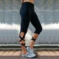 Женщины Леггинсы Росту Фитнес-Тренировки Мода Новый Леггинсы Плюс Размер Quick Dry Обернутые Вокруг Ноги Леггинсы Женщин