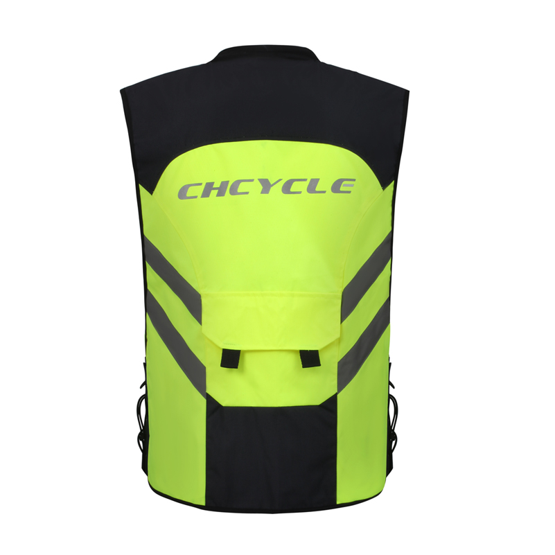 Yellow Waterproof Helmet Backpack Cover Cycling Safety High Visibility Cycle