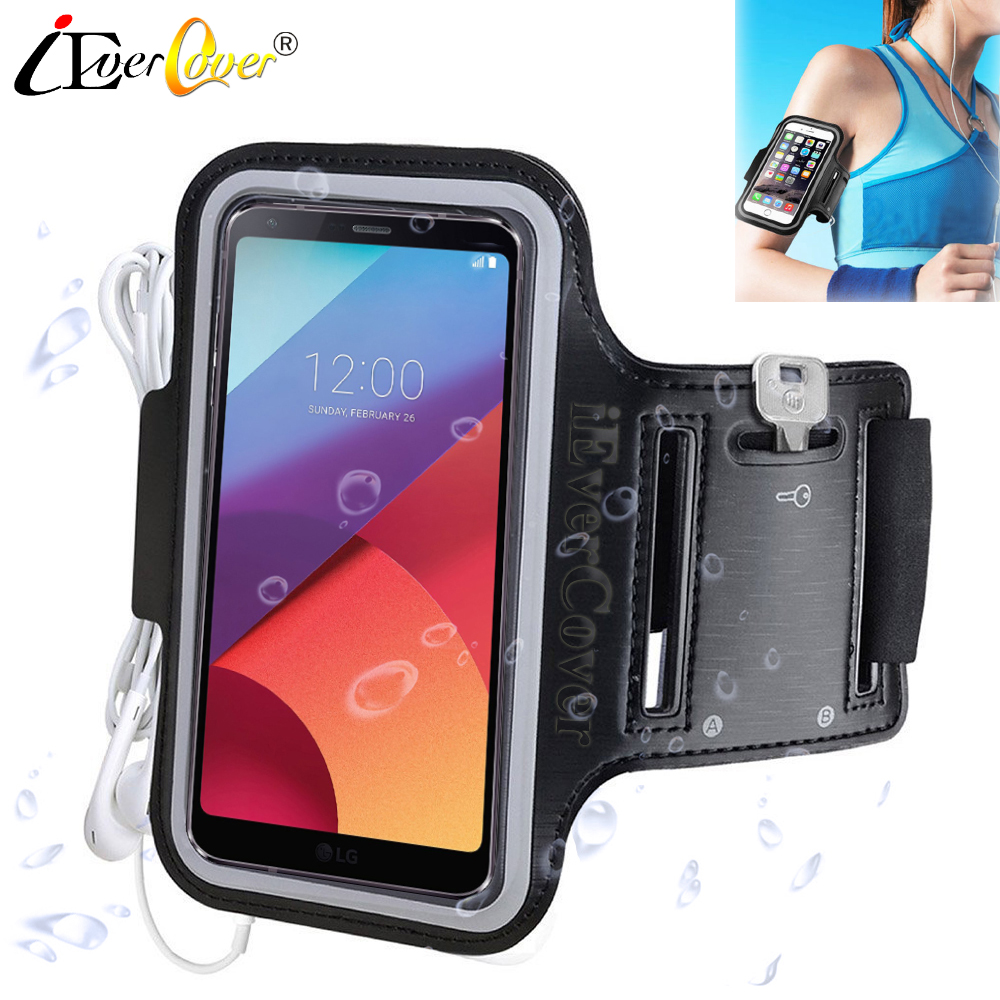 Sport Running Arm Band Jogging Case for LG V35 V30 V30+ Q8