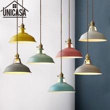 hot deal buy colors pendant lights modern home lighting fixtures vintage kitchen island bedroom ceiling lamp antique led shop light switch