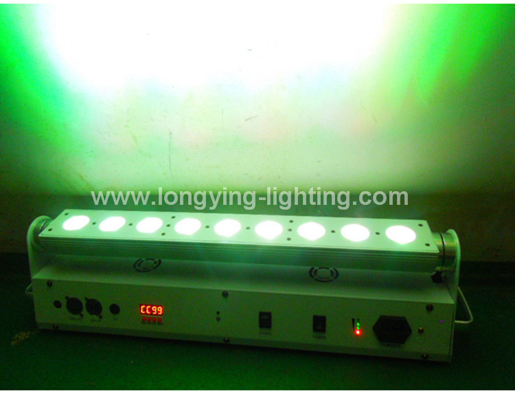 9x18w battery led wall washer light (14)