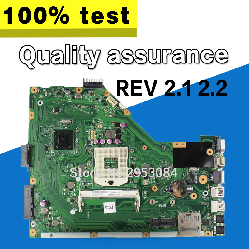 Original X55A REV.2.2 Laptop Motherboard for asus X55A series system board sjtnv pga989 ddr3 HM70 Integrated test before shippin