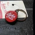 Fallout 4 keyrings Pip Boy Nuka Cola FALLOUT Key Chain Pendant Movie games around pendants Coke bottle cap FAST SHIPPING