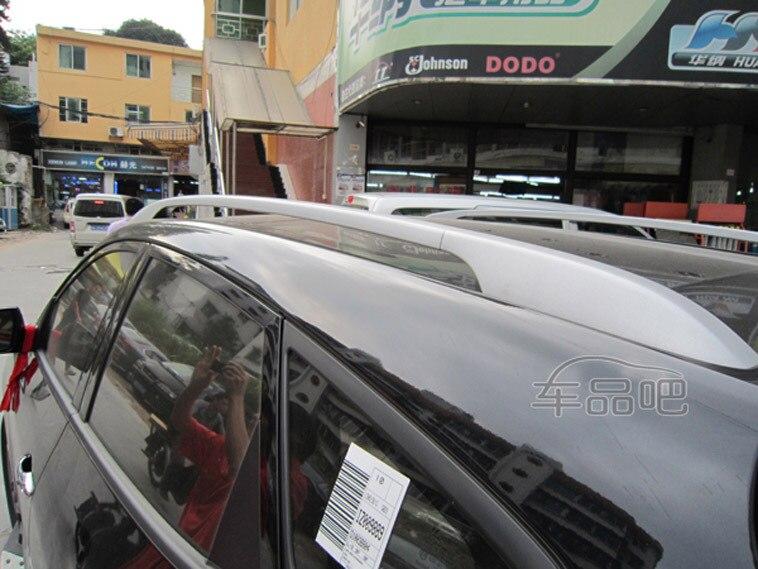 ФОТО Silver Roof Rack rails luggage babbage cariier bars  For Hyundai Tucson ix35 2010 2011 2012  2013 2014