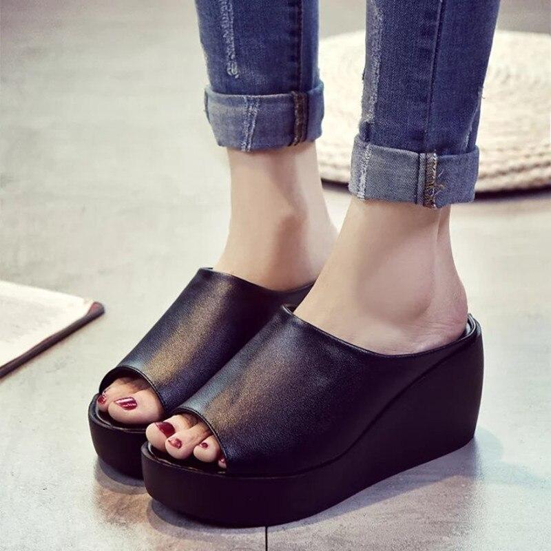 Drop Shipping Slides Women Sandals Designer Creepers Sandals Flower Slippers Peep Toe Brand Women Flip Flops Slip On