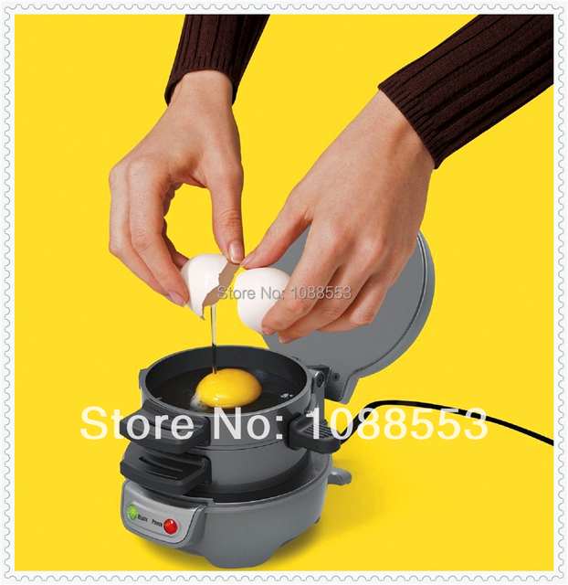 US $99 9 |Simple & Fast Way to Make Perfect Sandwich Portable Mini  Breakfast Sandwich Maker Egg Bacon Ham & Muffin-in Sandwich Makers from  Home