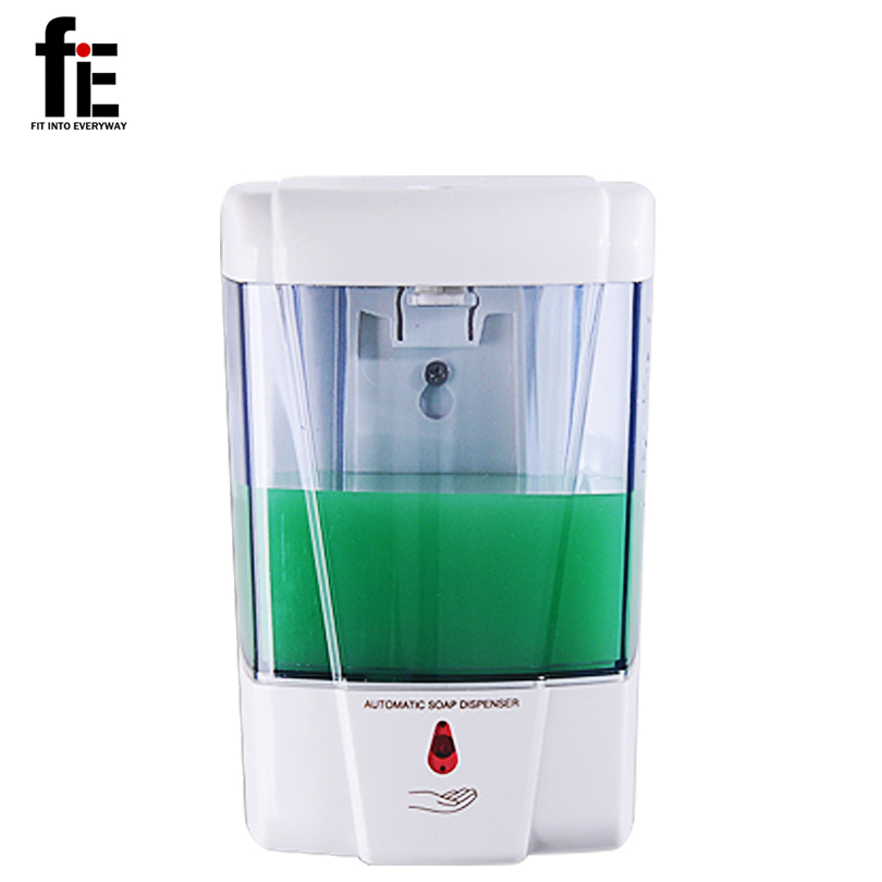 Fie Wall Mounted Sensor Soap Bathroom Hotel Plastic Abs Automatic Soap Dispenser In Liquid Soap