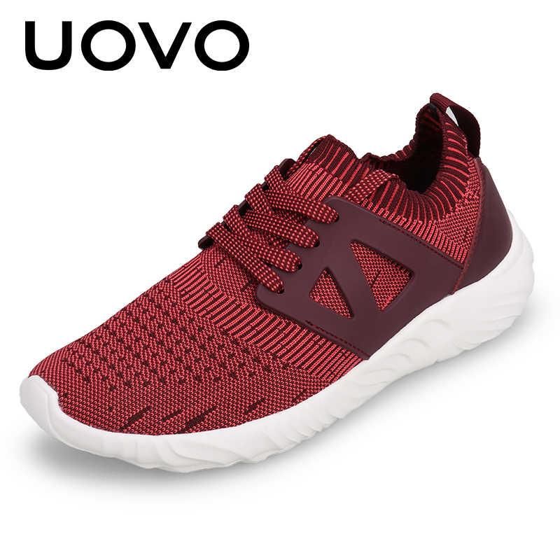 Zapatos Deportivos transpirables de punto de otoño y verano zapatos para caminar para Hombre Zapatos casuales de hombre de peso ligero y suela suave para hombre eur 39-43