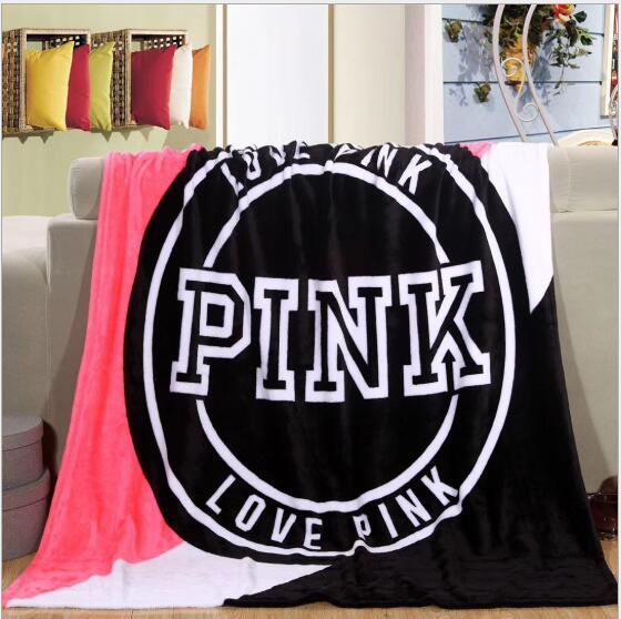 Nieuwe Collectie Roze Deken Zachte Deken In De Sofa Bed Coral Wol Warme Deken Reizen Deken 130*150 Cm Klanten Eerst