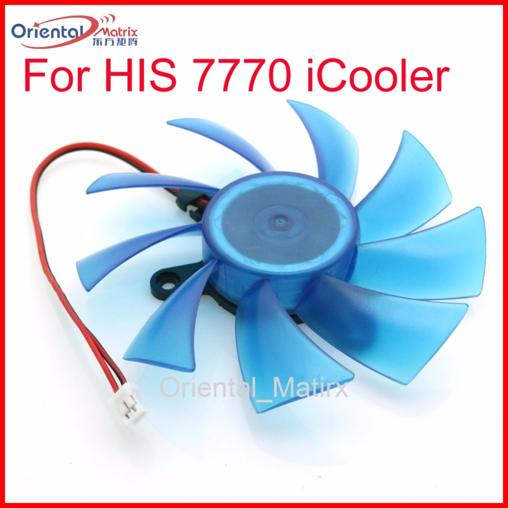 все цены на Free Shipping GA92B2H DC12V 0.35A 87mm For HIS 7770 iCooler  Graphics Card Cooling Fan онлайн