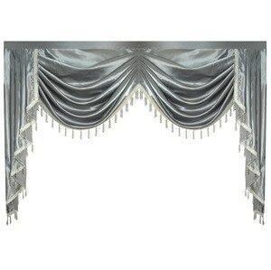 Image 1 - וילון אלאנס שלל Lambrequin עבור סלון אוכל חדר שינה יוקרה סגנון חלון Swag אירופאי רויאל סגנון