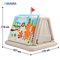 Children Inflatable Toys Trampoline Household Type  Indoor Outdoor Trampoline Playgroud Play Ball Pool 127*112*116CM