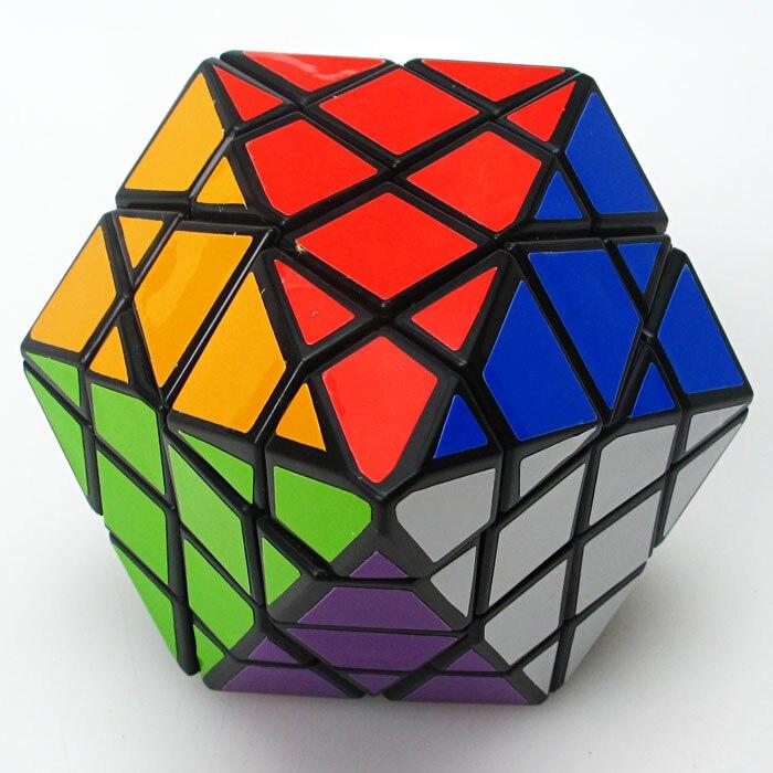 Tout nouveau Diansheng 8 coins seulement pyramide octogonale dipyramide 4x4 forme Mode Cube magique Puzzle jouets pour enfants joyeux labyrinthe de cerises