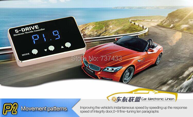 Blauwe LED Gouden Sterke booster Auto Throttle controller voor - Auto-onderdelen - Foto 4