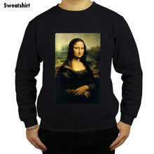 Homme à capuche Mona Lisa Carlins hoodies Frais Carlin Chiots Taille shubuzhi marque hommes sweat pulls à capuche de mode Taille européenne