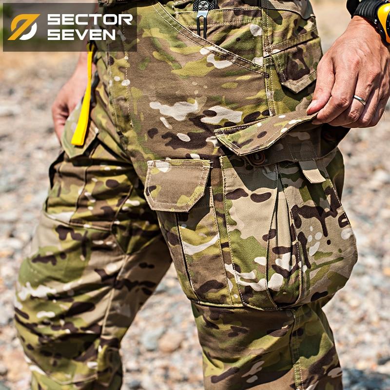 2017 nouveau IX2 Étanche camouflage tactique pantalon Jeu de Guerre pantalon Cargo hommes Pantalon pantalon militaire de L'armée Active Pants - 3