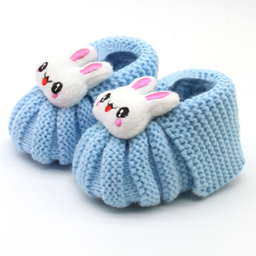 Toddler Shoes Footwear First-Walker Infant Baby Fashion Warm Woolen YTM1097 Smile-Print