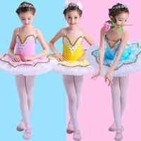 2019 Girls Ballet Dress Tutu Dancewear Leotard Girl Dance Dress tutu Costumes Kids Dancer Ballet Clothing YY1001