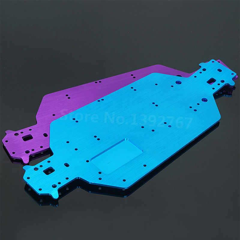 HSP Upgrade Teile Zubehör 04001 03601 Metall 6061 Chassis Für 1/10 Hallo Geschwindigkeit RC EP Autos RC Off-Road Lkw buggy Himoto Redcat