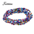 Ethnic Style Wholesale Jewelry Sweet Color Beads Bohemia Bracelet For Women